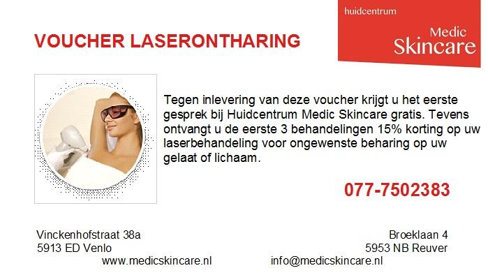 voucher laserontharing